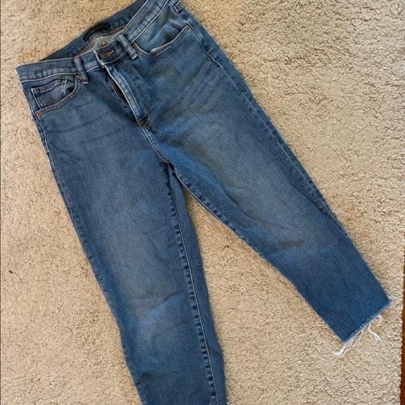 Uniqlo Denim - Uniqlo high waisted cutoff jeans